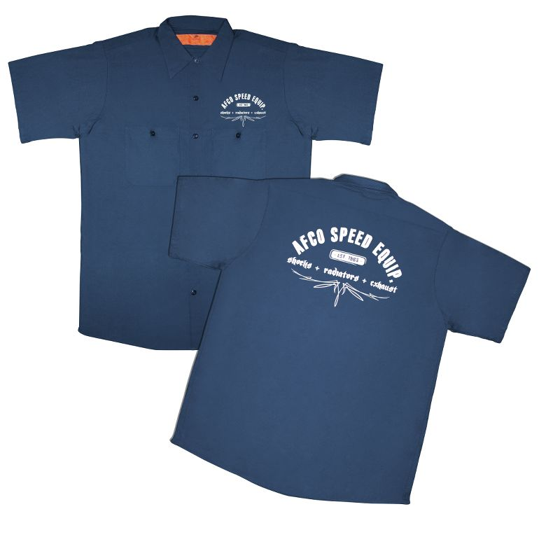 Work Shirt  Navy  L