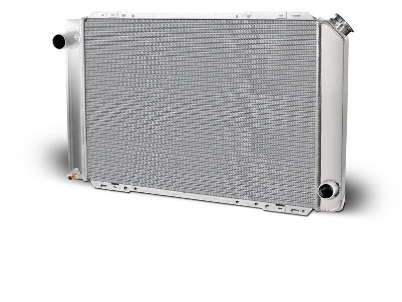 Aluminum  Radiator  Mustang Drag    Single Pass  Big & Small Block Chevy