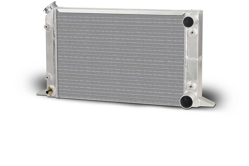 Aluminum  Radiator  Sirocco  Right Hand  Double Pass  1-1/2 Inlet  1-3/4 Outlet