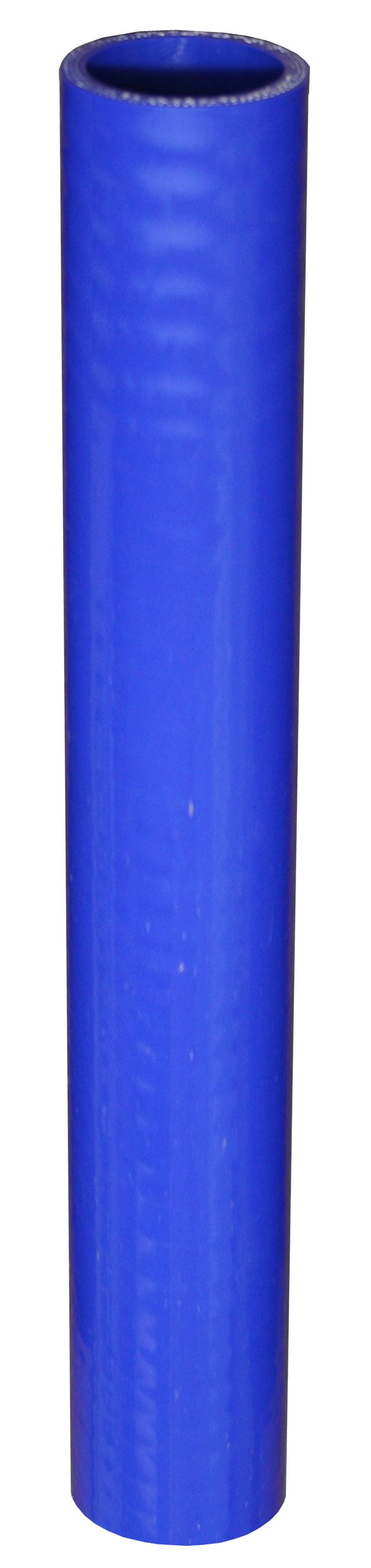 Silicon  Blue  Radiator   Hose  6 Inch Length  1.25 I.D.