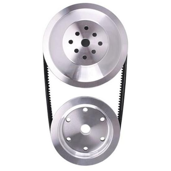 Cast Pulley Combo  Long Water Pump