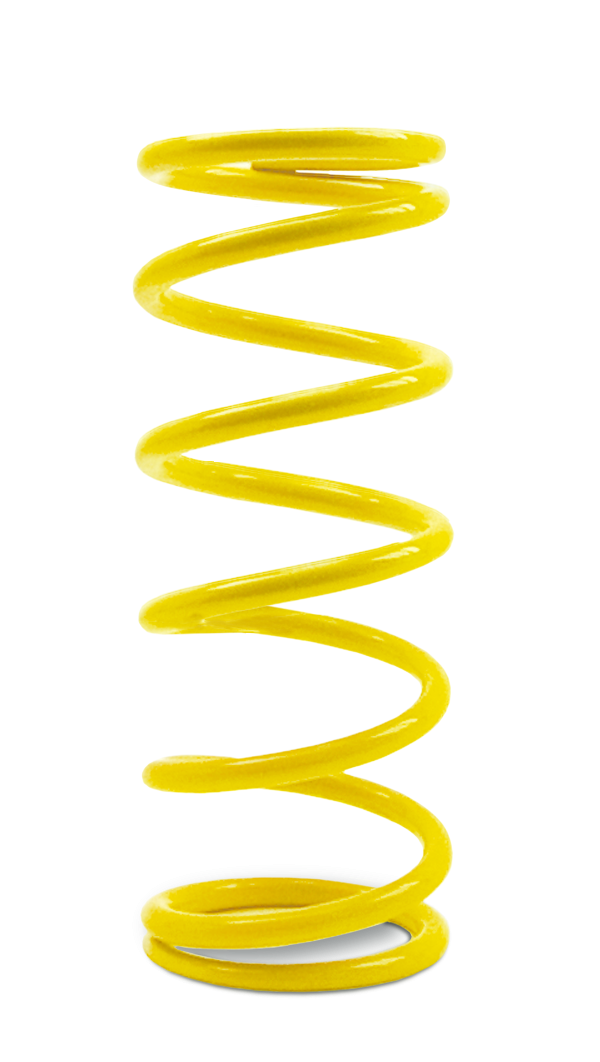 "Yellow Dual Stage Springs 8.25"" X 600 (2-5/8 I.D) AFCOIL®"