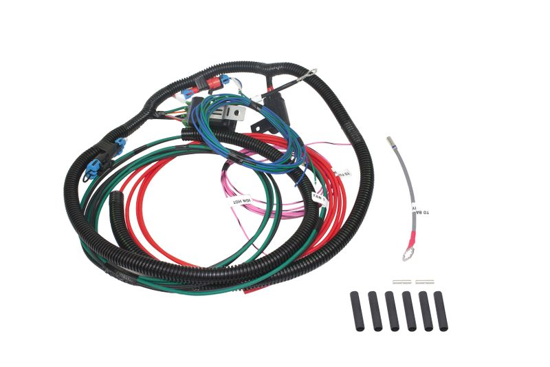 Wire Harness  Single Fan  Single 40 Amp Relay  Positive Or Negative Controlled  Universal