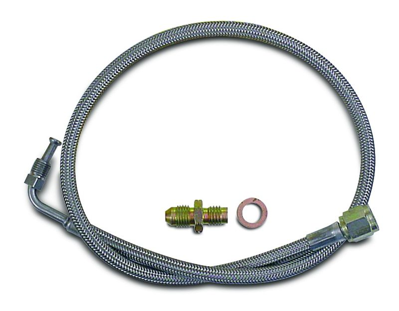 Braided Steel Clutch Master Cylinder To Slave Cylinder Hose Kit  36 Inches Long