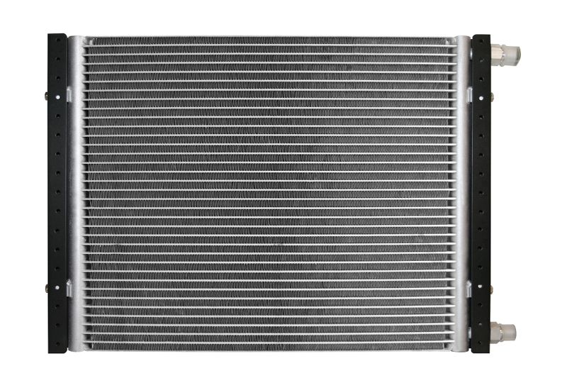 Aluminum Satin  Radiator and Shroud  1923 T-Bucket  Single Satin Shroud    Chevy