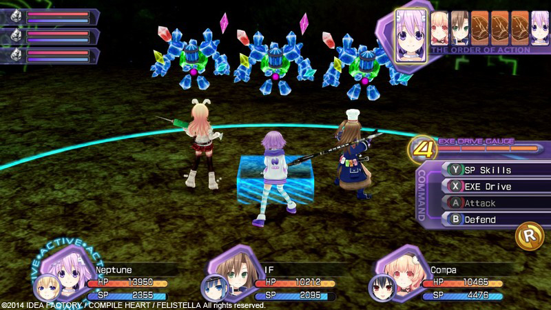 Hyperdimension Neptunia Re Birth1 - RELOADED - Tek Link indir
