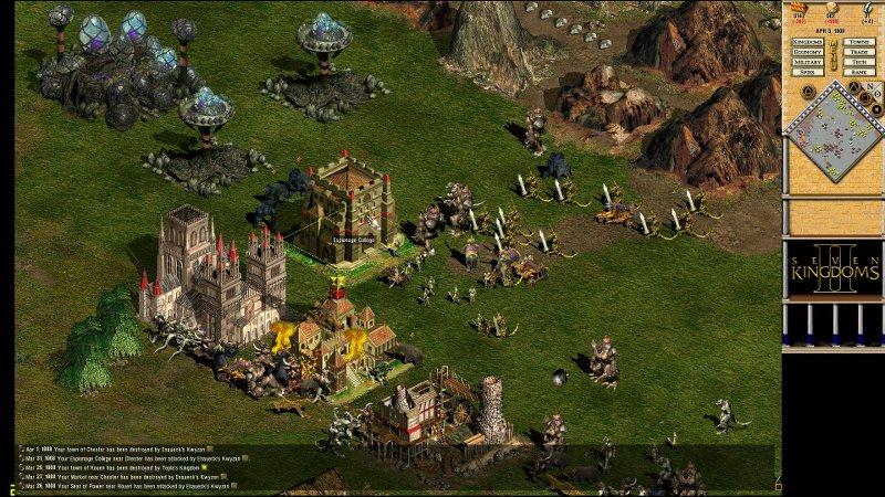 Seven Kingdoms 2 HD - HI2U - Tek Link indir