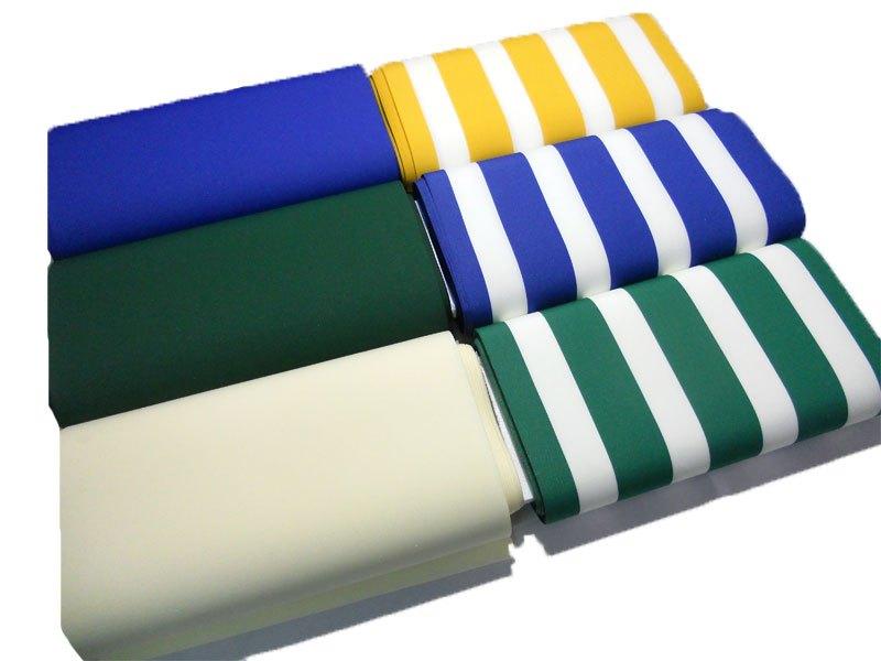 Stoffa Per Sedie A Sdraio.Tessuto Tela Per Sedia A Sdraio H 45 Cm Tinta Unito Righe Vendita