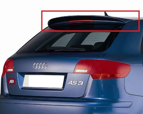 Audi A3 Sportback 5 Doors 8p Rear Roof Spoiler Sportline S3 New Ebay