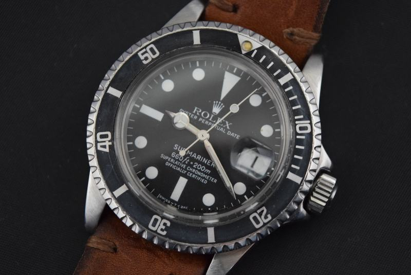 rolex submariner date ref 1680 ca 1977 vintage ebay. Black Bedroom Furniture Sets. Home Design Ideas