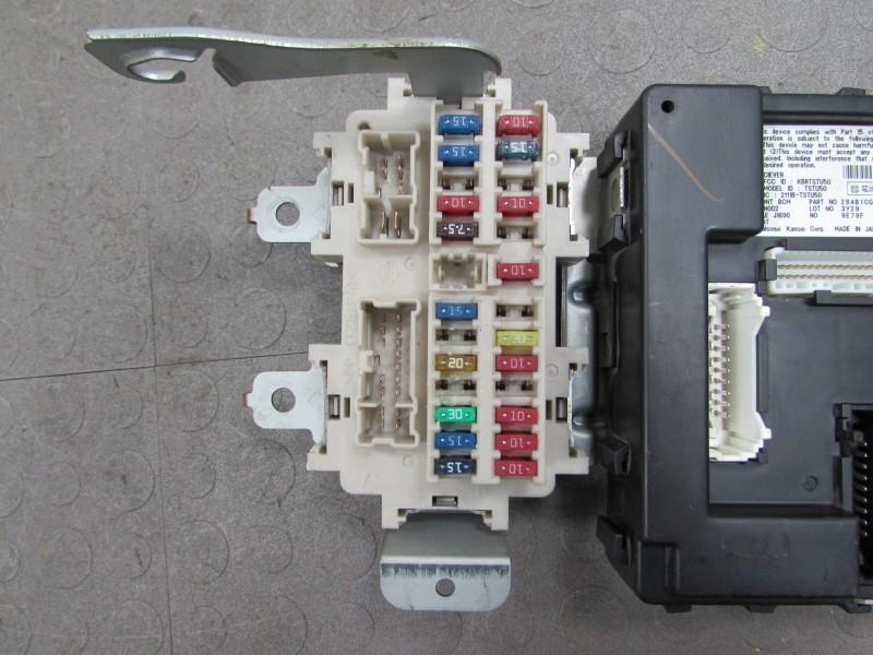 2009 infiniti fx35 fuse box 03-04 infiniti fx35 fx45 fx bcm body control module unit fuse box 284b1 cg000 *a | ebay 03 infiniti fx35 fuse box #3