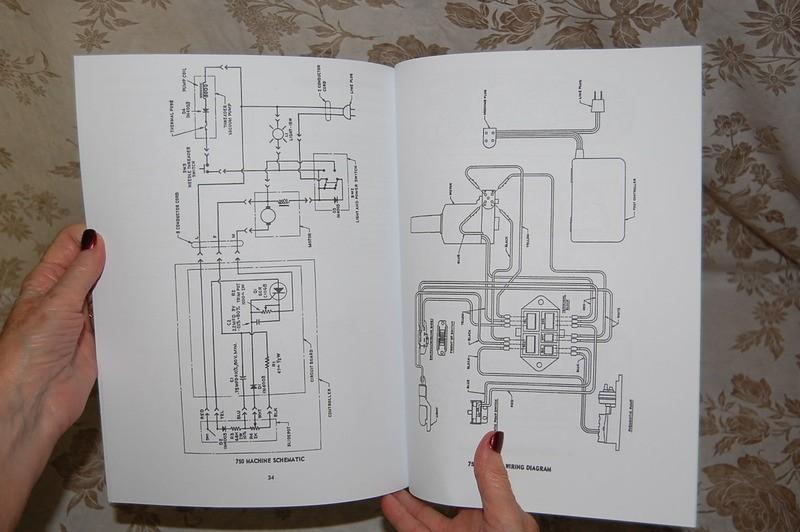 Singer Service manual 750