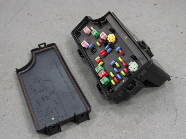 06-10 pt cruiser bcm totally integrated power module fuse ... 06 pt cruiser fuse box