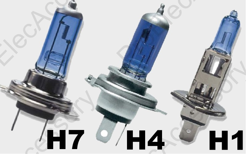 2 ampoule paire lampe halogene feu phare xenon blanc moto h1 h7 55w 6000k 12v. Black Bedroom Furniture Sets. Home Design Ideas