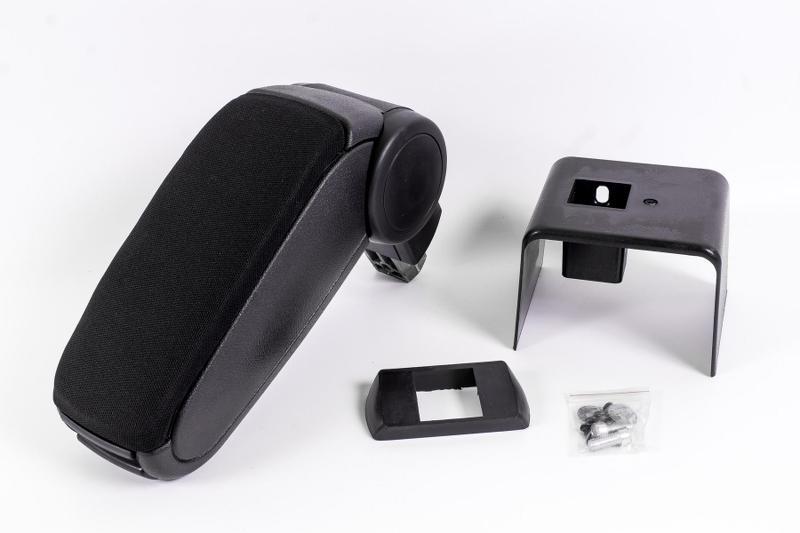 seitronic accoudoir central pour ford fiesta 1995 2002 in textile noir ebay. Black Bedroom Furniture Sets. Home Design Ideas