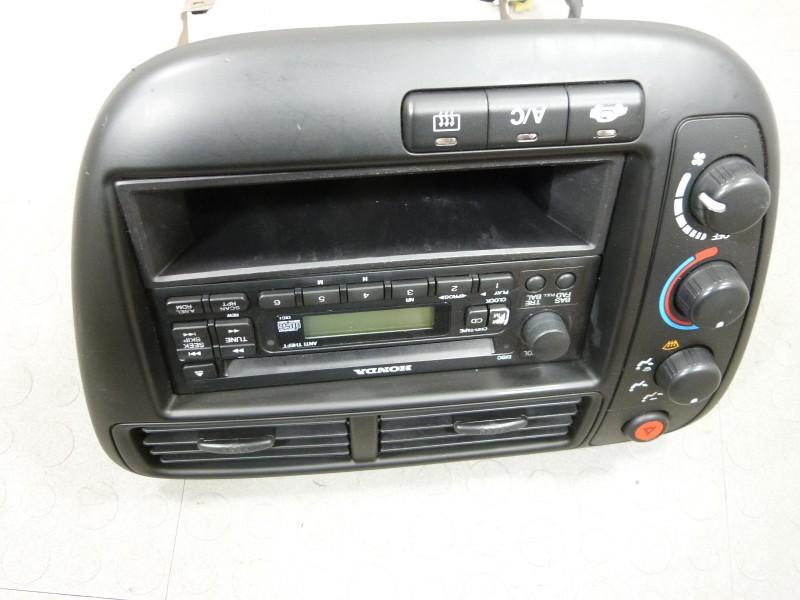 99 00 honda civic cd player radio surround climate control. Black Bedroom Furniture Sets. Home Design Ideas