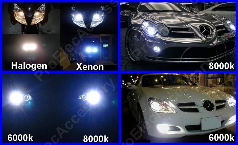 kit de conversion xenon hid ampoule h4 6000k 35w lampe feux de croisement phare ebay. Black Bedroom Furniture Sets. Home Design Ideas