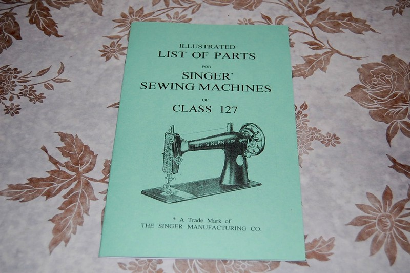 Illustrated Parts Manual To Service Singer Class 40 Sewing Machines Enchanting Parts Of A Manual Sewing Machine