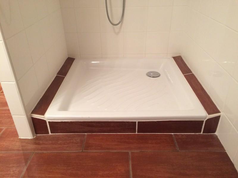 porte pour douche avec carrelage en pente gal re 7. Black Bedroom Furniture Sets. Home Design Ideas