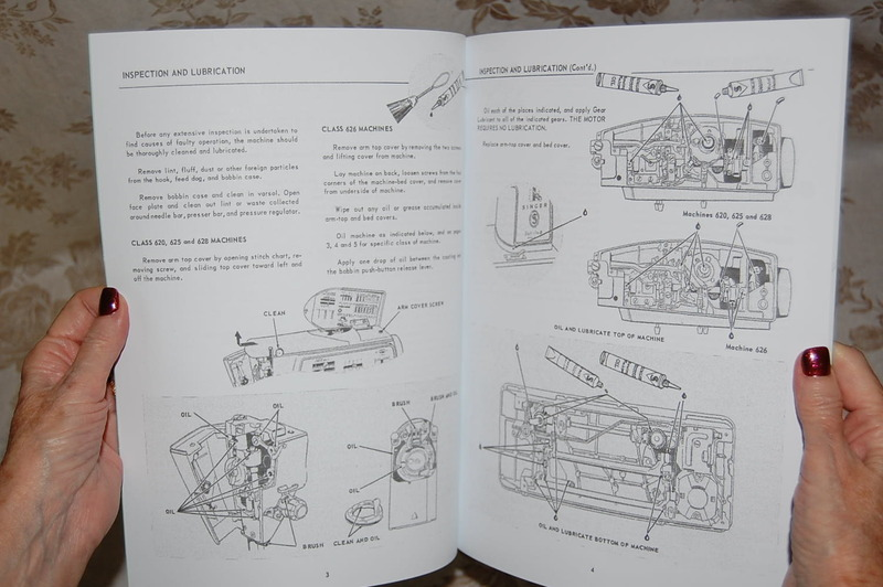 Professional Full Edition Service Manual  Singer 620 625 626 628 Sewing Machines