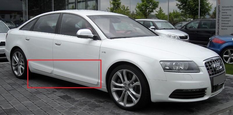 Audi A6 C6 4f S6 S Line Look Side Blades Door Blades
