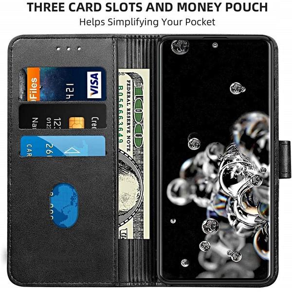 Protezione Custodia a Portafoglio Copertina per Extra Card & Cash