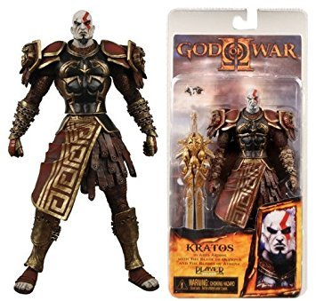 NECA God of War Kratos in Ares Armor with Sword of Olympus 18cm