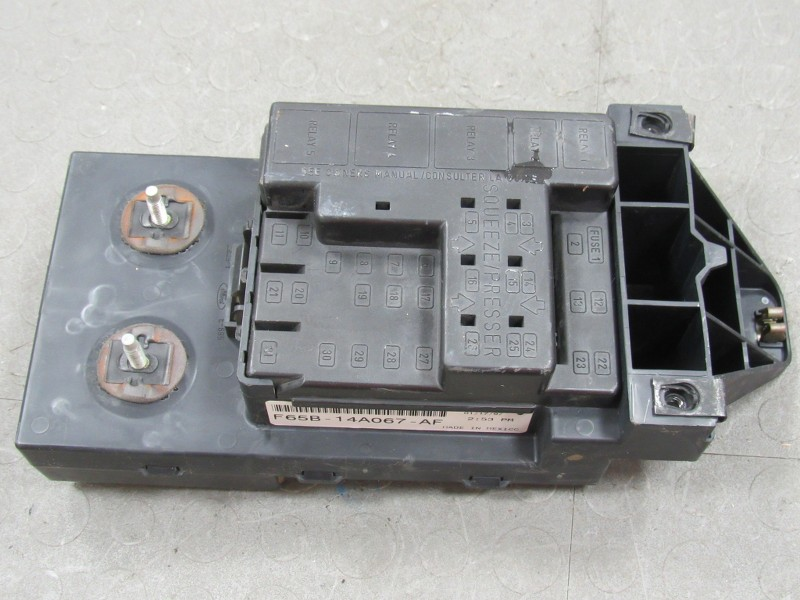 fuse box 97 ford f150 97-98 ford f150 interior dash fuse box junction relay ...