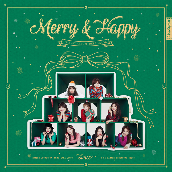 Download [Album] TWICE – Merry & Happy [Repackage] (MP3 +