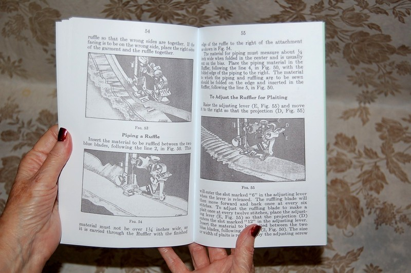 Details about Large Deluxe-Edition Instructions Manual for Singer 66 Sewing  Machine