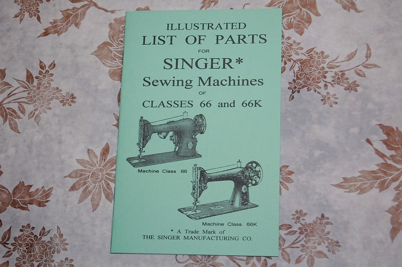 Illustrated Parts Manual To Service Singer Sewing Machines Of Best Sewing Machine Parts Singer