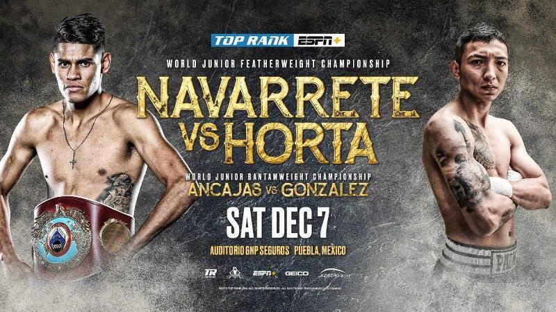 Emanuel Navarrete vs Francisco Horta en Vivo – Box – Sábado 7 de Diciembre del 2019