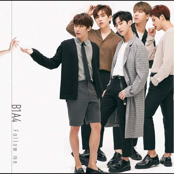 B1A4 - Follow Me (Japanese Single) K2Ost free mp3 download korean song kpop kdrama ost lyric 320 kbps