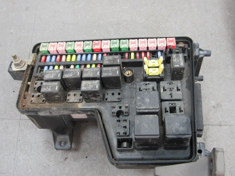 03 dodge ram 2500 fuse box 02-03 dodge ram truck integrated power module fuse box ...