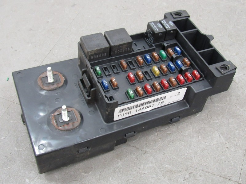 97 ford truck fuse box 97 ford probe fuse box 97-98 ford f150 interior dash fuse box junction relay ... #9