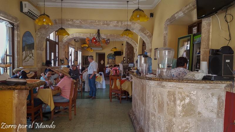 Restaurante La Misión dentro del Misión Marielena