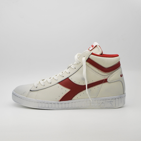 DIADORA GAME L HIGH WAXED WHITE / RED COD. 501.159657 01 C5147 NUOVE TG. 40