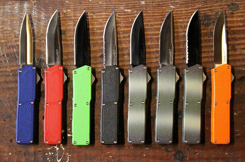 Now Stocking: Lightning D/A OTF Knives - The Knife Network