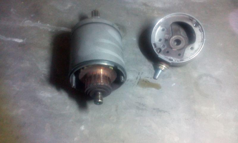 Fs650 Starter Repair Using Honda Parts Husaberg Forum