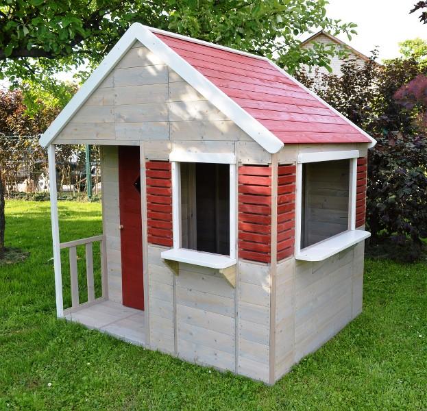 """Kinderhaus """"Sommervilla"""" Kinderspielhaus Gartenhaus aus ..."""