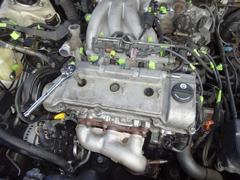 1998 Camry V6 1MZFE - Top End Work: Spark Plugs, Knock ... on 1992 camry engine diagram, transmission engine diagram, 92 camry blower motor, 96 camry engine diagram, 92 camry dash lights, 92 camry door lock, 92 camry shift solenoid, 94 camry engine diagram, fuel pump engine diagram,