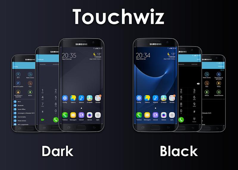 Touchwiz 6.0 Dark & Black Themes