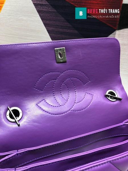 Túi xách chanel trendy CC siêu cấp tag bạc