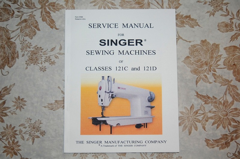 Professional Full Edition Service Manual For Singer 40C 40D New Singer Simple Sewing Machine Manual 3116