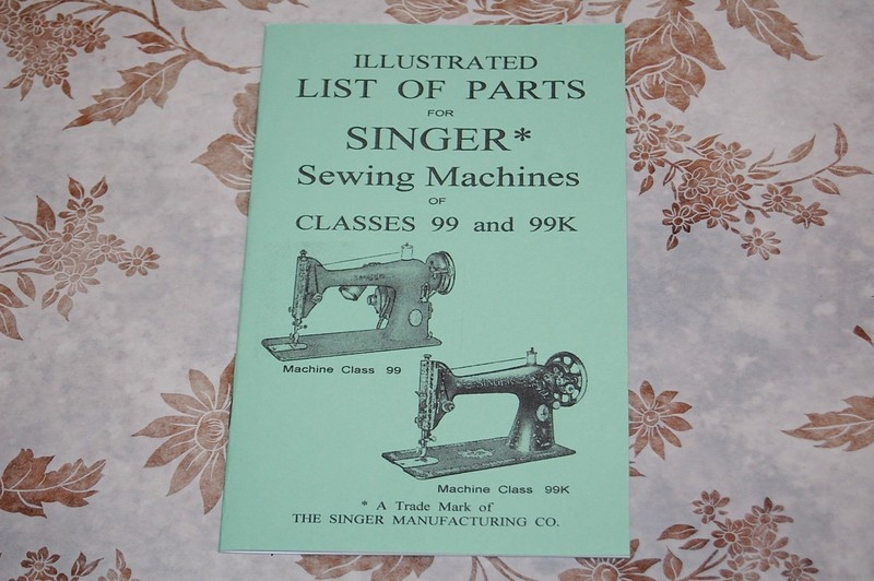 Illustrated Parts Manual To Service Singer Sewing Machines Of Fascinating Parts Of A Manual Sewing Machine