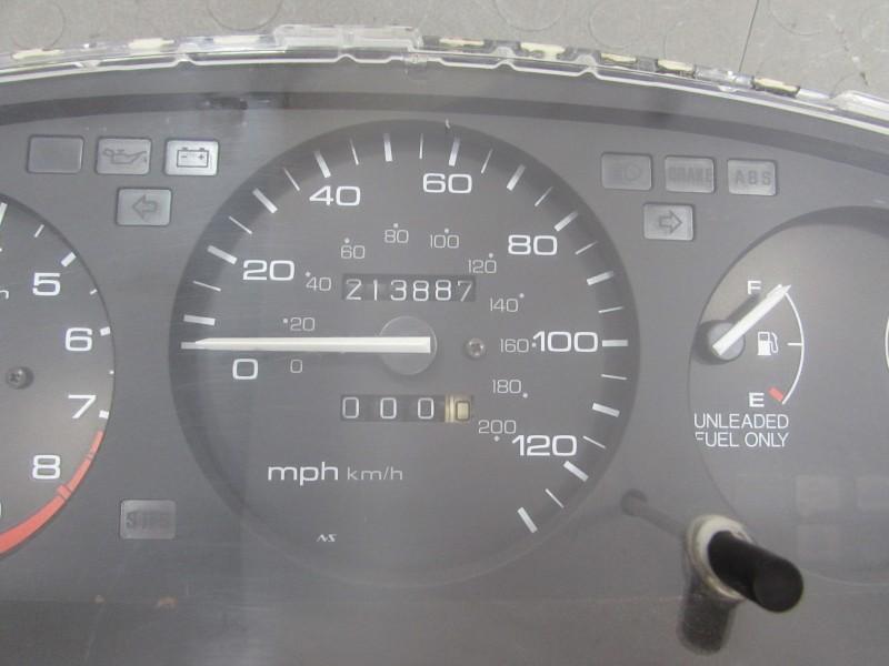 Honda Civic Gauge Cluster Wiring Diagram