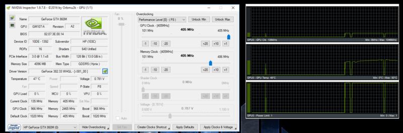 Nvidia 860M GPU Turbo Boost/Power Throttling | Tom's Hardware Forum