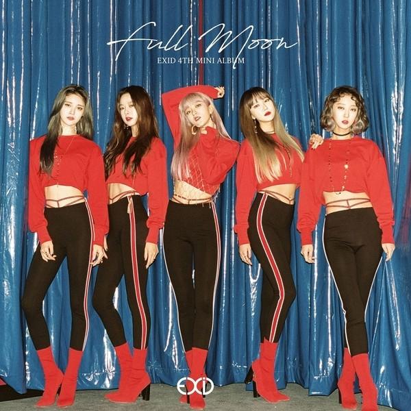 Download [Full Album] EXID - Full Moon - EP Mp3 Album Cover