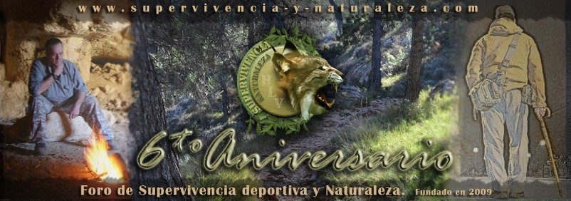 Supervivencia y Naturaleza (Survival & Nature), 6 años de supervivencia en español.