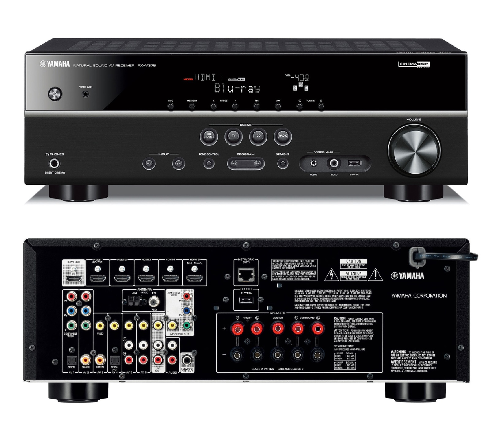 Yamaha Av Receiver Replacement Parts